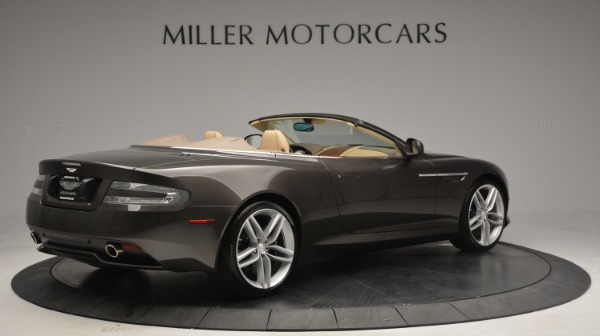 Used 2012 Aston Martin Virage Convertible for sale Sold at Rolls-Royce Motor Cars Greenwich in Greenwich CT 06830 8