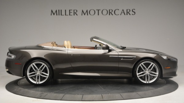 Used 2012 Aston Martin Virage Convertible for sale Sold at Rolls-Royce Motor Cars Greenwich in Greenwich CT 06830 9