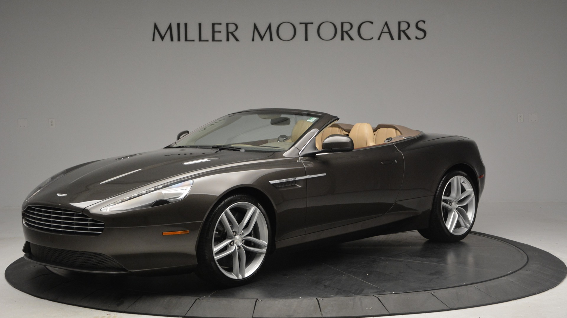Used 2012 Aston Martin Virage Convertible for sale Sold at Rolls-Royce Motor Cars Greenwich in Greenwich CT 06830 1