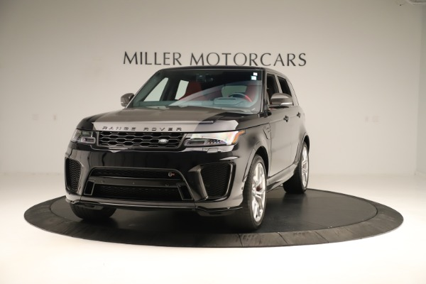 Used 2019 Land Rover Range Rover Sport SVR for sale Sold at Rolls-Royce Motor Cars Greenwich in Greenwich CT 06830 1
