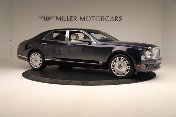 Used 2016 Bentley Mulsanne for sale $149,900 at Rolls-Royce Motor Cars Greenwich in Greenwich CT 06830 10