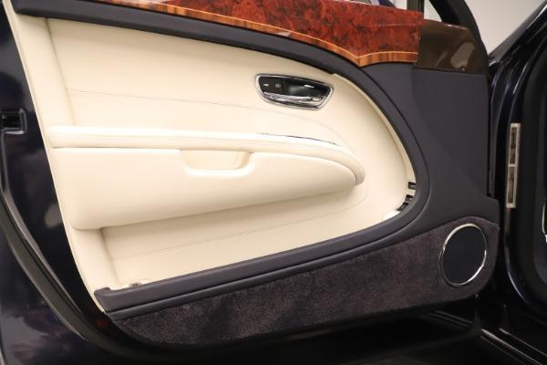 Used 2016 Bentley Mulsanne for sale $149,900 at Rolls-Royce Motor Cars Greenwich in Greenwich CT 06830 16