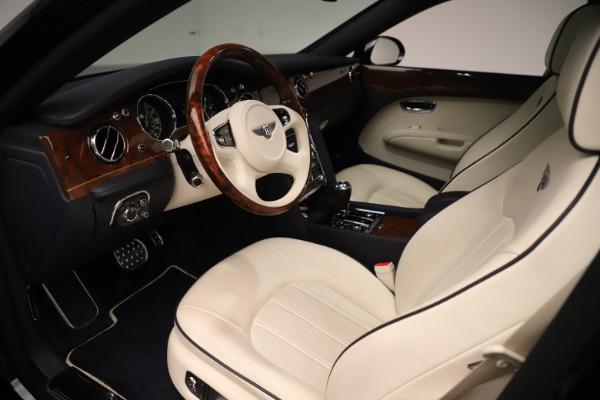 Used 2016 Bentley Mulsanne for sale $149,900 at Rolls-Royce Motor Cars Greenwich in Greenwich CT 06830 17