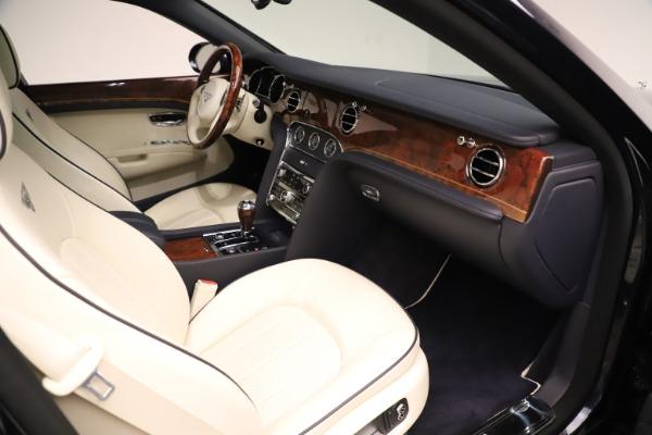 Used 2016 Bentley Mulsanne for sale $149,900 at Rolls-Royce Motor Cars Greenwich in Greenwich CT 06830 25