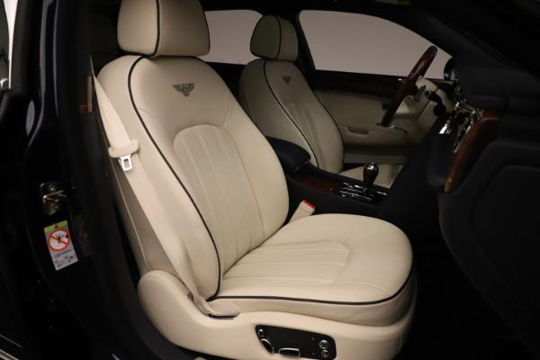 Used 2016 Bentley Mulsanne for sale $149,900 at Rolls-Royce Motor Cars Greenwich in Greenwich CT 06830 27
