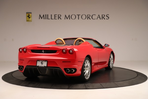 Used 2007 Ferrari F430 F1 Spider for sale Sold at Rolls-Royce Motor Cars Greenwich in Greenwich CT 06830 7
