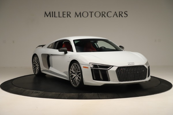 Used 2018 Audi R8 5.2 quattro V10 Plus for sale Sold at Rolls-Royce Motor Cars Greenwich in Greenwich CT 06830 11