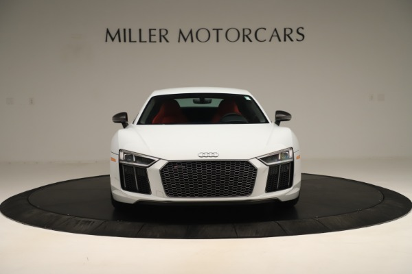 Used 2018 Audi R8 5.2 quattro V10 Plus for sale Sold at Rolls-Royce Motor Cars Greenwich in Greenwich CT 06830 12
