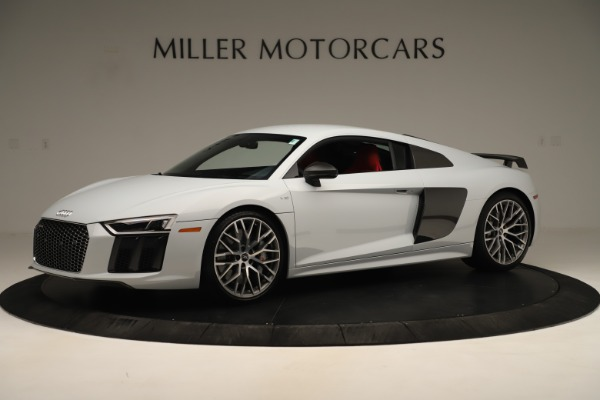 Used 2018 Audi R8 5.2 quattro V10 Plus for sale Sold at Rolls-Royce Motor Cars Greenwich in Greenwich CT 06830 2