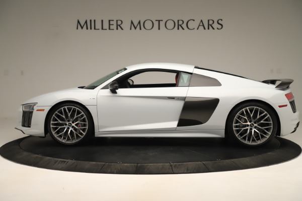 Used 2018 Audi R8 5.2 quattro V10 Plus for sale Sold at Rolls-Royce Motor Cars Greenwich in Greenwich CT 06830 3