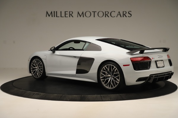 Used 2018 Audi R8 5.2 quattro V10 Plus for sale Sold at Rolls-Royce Motor Cars Greenwich in Greenwich CT 06830 4