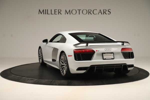 Used 2018 Audi R8 5.2 quattro V10 Plus for sale Sold at Rolls-Royce Motor Cars Greenwich in Greenwich CT 06830 5