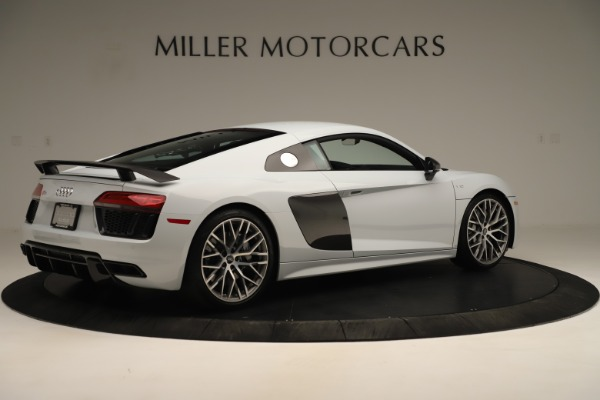 Used 2018 Audi R8 5.2 quattro V10 Plus for sale Sold at Rolls-Royce Motor Cars Greenwich in Greenwich CT 06830 8