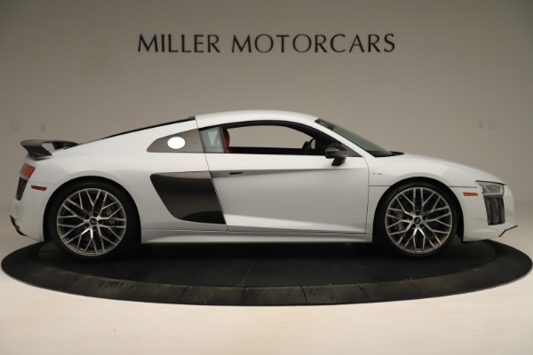Used 2018 Audi R8 5.2 quattro V10 Plus for sale Sold at Rolls-Royce Motor Cars Greenwich in Greenwich CT 06830 9
