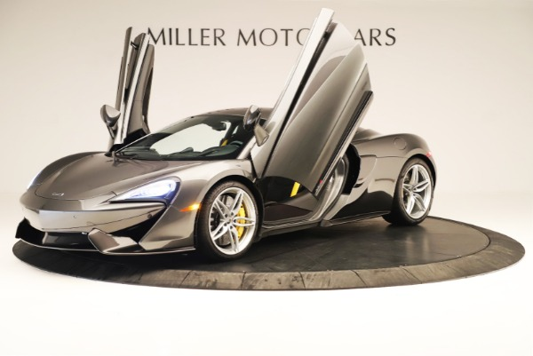 Used 2017 McLaren 570S Coupe for sale Sold at Rolls-Royce Motor Cars Greenwich in Greenwich CT 06830 10