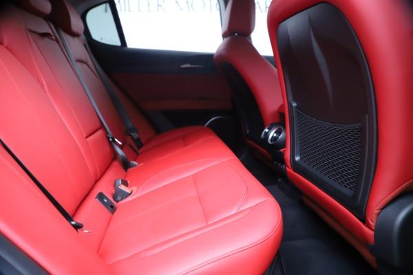 New 2019 Alfa Romeo Stelvio Ti Q4 for sale Sold at Rolls-Royce Motor Cars Greenwich in Greenwich CT 06830 27