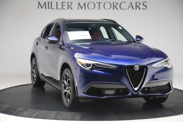 New 2019 Alfa Romeo Stelvio Ti Sport Q4 for sale $58,940 at Rolls-Royce Motor Cars Greenwich in Greenwich CT 06830 11