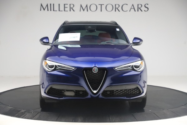 New 2019 Alfa Romeo Stelvio Ti Sport Q4 for sale $58,940 at Rolls-Royce Motor Cars Greenwich in Greenwich CT 06830 12