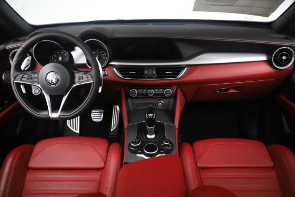 New 2019 Alfa Romeo Stelvio Ti Sport Q4 for sale $58,940 at Rolls-Royce Motor Cars Greenwich in Greenwich CT 06830 16