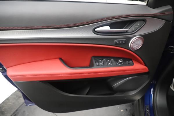 New 2019 Alfa Romeo Stelvio Ti Sport Q4 for sale $58,940 at Rolls-Royce Motor Cars Greenwich in Greenwich CT 06830 17