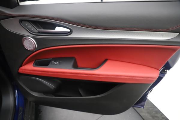 New 2019 Alfa Romeo Stelvio Ti Sport Q4 for sale $58,940 at Rolls-Royce Motor Cars Greenwich in Greenwich CT 06830 25