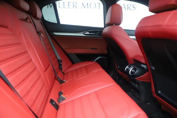New 2019 Alfa Romeo Stelvio Ti Sport Q4 for sale $58,940 at Rolls-Royce Motor Cars Greenwich in Greenwich CT 06830 27