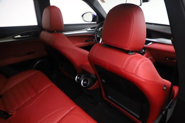 New 2019 Alfa Romeo Stelvio Ti Sport Q4 for sale $58,940 at Rolls-Royce Motor Cars Greenwich in Greenwich CT 06830 28