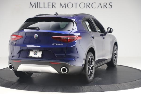 New 2019 Alfa Romeo Stelvio Ti Sport Q4 for sale $58,940 at Rolls-Royce Motor Cars Greenwich in Greenwich CT 06830 7
