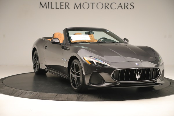 New 2019 Maserati GranTurismo Sport Convertible for sale $163,845 at Rolls-Royce Motor Cars Greenwich in Greenwich CT 06830 11