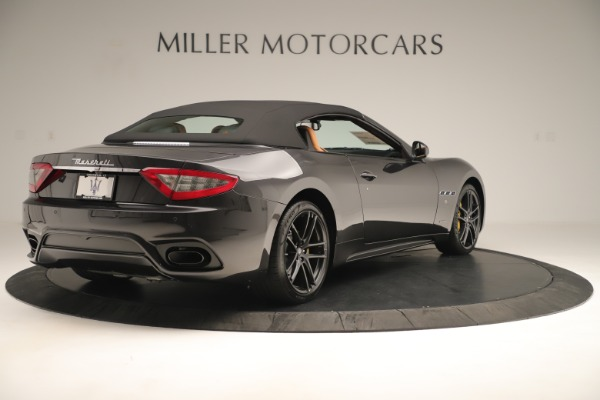 New 2019 Maserati GranTurismo Sport Convertible for sale $161,695 at Rolls-Royce Motor Cars Greenwich in Greenwich CT 06830 16