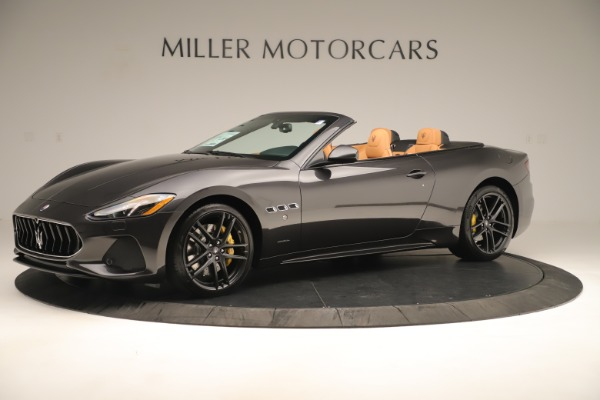 New 2019 Maserati GranTurismo Sport Convertible for sale $163,845 at Rolls-Royce Motor Cars Greenwich in Greenwich CT 06830 2