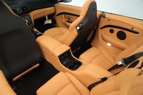New 2019 Maserati GranTurismo Sport Convertible for sale $161,695 at Rolls-Royce Motor Cars Greenwich in Greenwich CT 06830 24