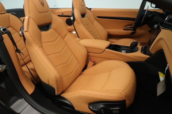 New 2019 Maserati GranTurismo Sport Convertible for sale $161,695 at Rolls-Royce Motor Cars Greenwich in Greenwich CT 06830 28