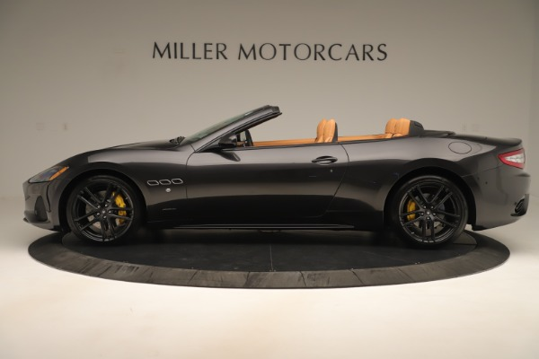 New 2019 Maserati GranTurismo Sport Convertible for sale $163,845 at Rolls-Royce Motor Cars Greenwich in Greenwich CT 06830 3