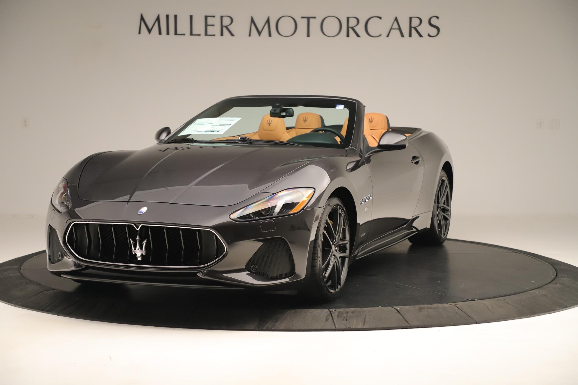 New 2019 Maserati GranTurismo Sport Convertible for sale $161,695 at Rolls-Royce Motor Cars Greenwich in Greenwich CT 06830 1