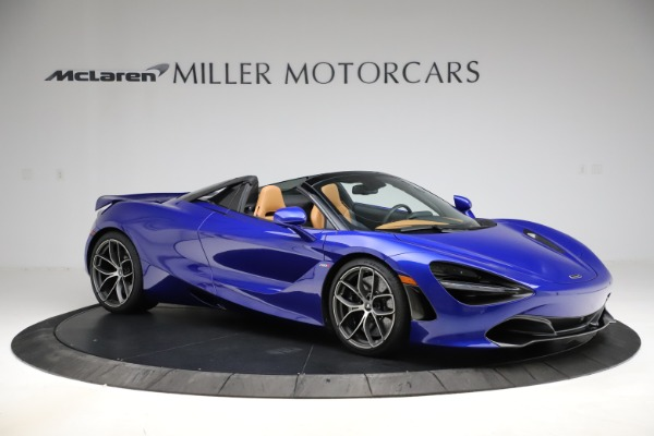 New 2020 McLaren 720S SPIDER Convertible for sale $374,830 at Rolls-Royce Motor Cars Greenwich in Greenwich CT 06830 10