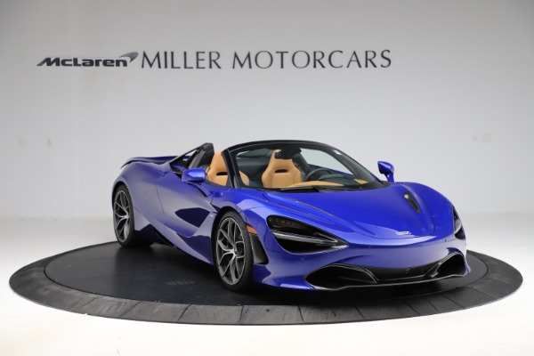 New 2020 McLaren 720S SPIDER Convertible for sale $374,830 at Rolls-Royce Motor Cars Greenwich in Greenwich CT 06830 11