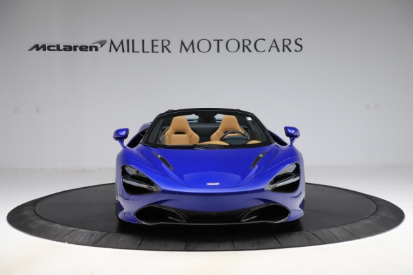 New 2020 McLaren 720S SPIDER Convertible for sale $374,830 at Rolls-Royce Motor Cars Greenwich in Greenwich CT 06830 12