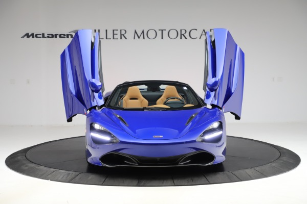 New 2020 McLaren 720S SPIDER Convertible for sale $374,830 at Rolls-Royce Motor Cars Greenwich in Greenwich CT 06830 13