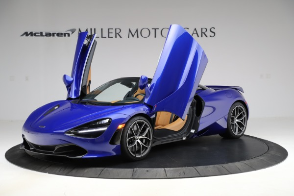 New 2020 McLaren 720S SPIDER Convertible for sale $374,830 at Rolls-Royce Motor Cars Greenwich in Greenwich CT 06830 14