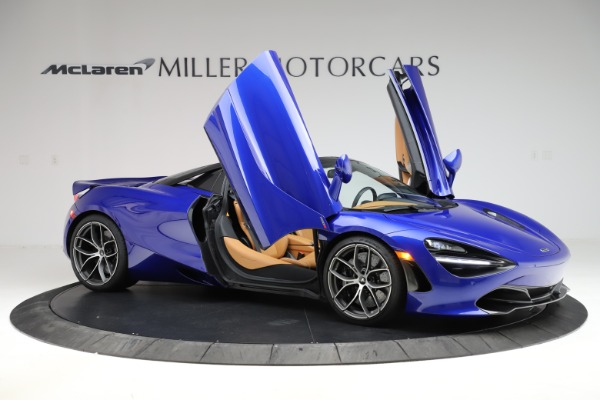 New 2020 McLaren 720S SPIDER Convertible for sale $374,830 at Rolls-Royce Motor Cars Greenwich in Greenwich CT 06830 15