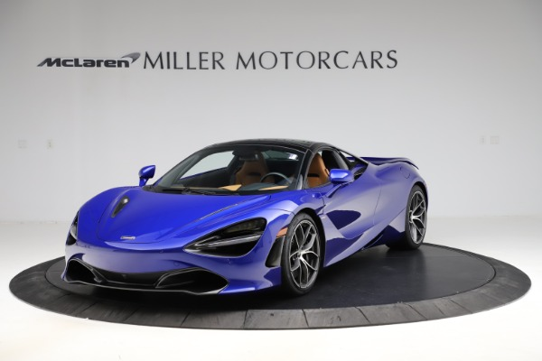 New 2020 McLaren 720S SPIDER Convertible for sale $374,830 at Rolls-Royce Motor Cars Greenwich in Greenwich CT 06830 16