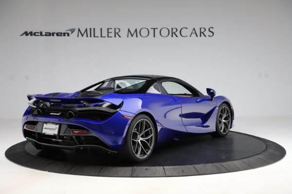 New 2020 McLaren 720S SPIDER Convertible for sale $374,830 at Rolls-Royce Motor Cars Greenwich in Greenwich CT 06830 19