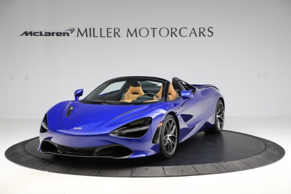 New 2020 McLaren 720S SPIDER Convertible for sale $374,830 at Rolls-Royce Motor Cars Greenwich in Greenwich CT 06830 2