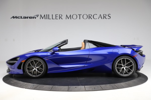New 2020 McLaren 720S SPIDER Convertible for sale $374,830 at Rolls-Royce Motor Cars Greenwich in Greenwich CT 06830 3