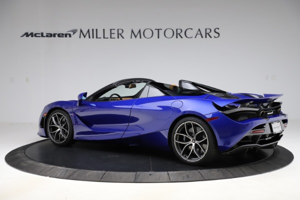 New 2020 McLaren 720S SPIDER Convertible for sale $374,830 at Rolls-Royce Motor Cars Greenwich in Greenwich CT 06830 4