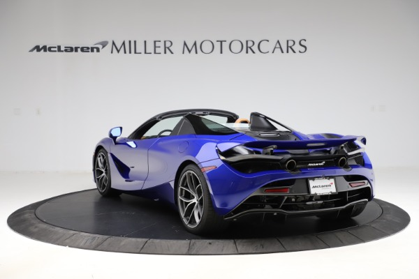 New 2020 McLaren 720S SPIDER Convertible for sale $374,830 at Rolls-Royce Motor Cars Greenwich in Greenwich CT 06830 5