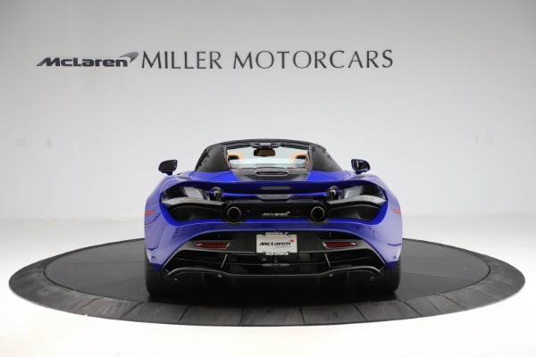 New 2020 McLaren 720S SPIDER Convertible for sale $374,830 at Rolls-Royce Motor Cars Greenwich in Greenwich CT 06830 6