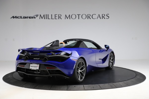 New 2020 McLaren 720S SPIDER Convertible for sale $374,830 at Rolls-Royce Motor Cars Greenwich in Greenwich CT 06830 7