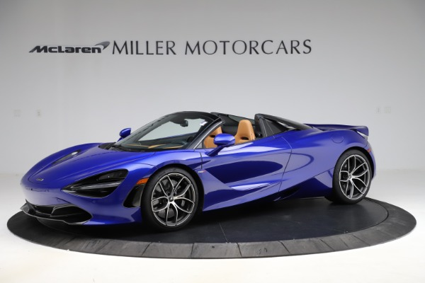New 2020 McLaren 720S SPIDER Convertible for sale $374,830 at Rolls-Royce Motor Cars Greenwich in Greenwich CT 06830 1